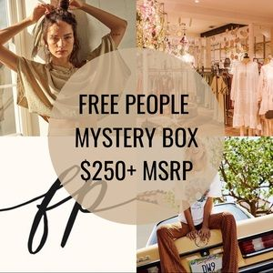 NWT FREE PEOPLE Mystery Box $250+ MSRP Reseller